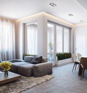 Ремонт, дизайн и обустройство квартир под ключ