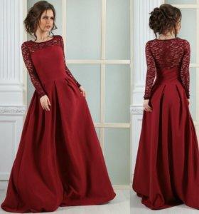 Платье новое вечернее в пол
