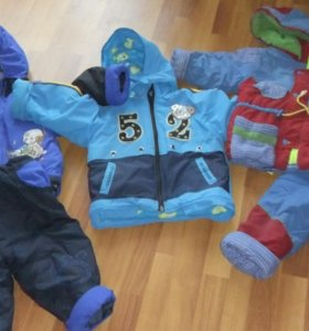 Теплая куртка и костюмы