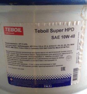 Масло Teboil Super HPD SAE 10W-40