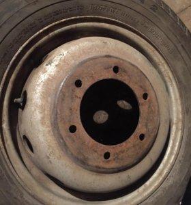 Оригинальный диск Ford Transit r16