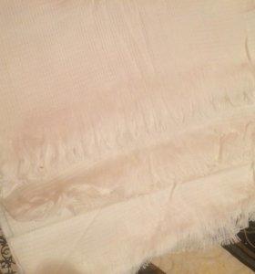 Комплект из больших вафельных полотенец