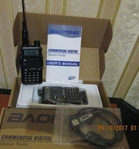BAOFENG DM-5R PLUS - ЦИФРОВАЯ VHF/UHF РАЦИЯ-2шт