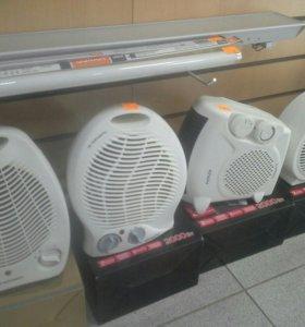 Тепловентиляторы разных моделей