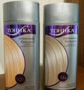 Новые оттеночные шампуни Тоника