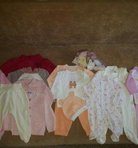 Пакетом Вещи для девочки 62-68