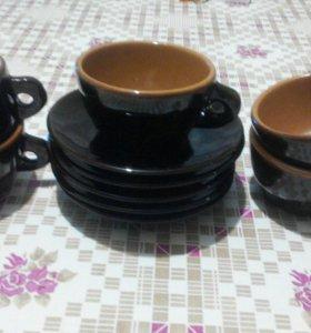 Кофейный сервиз на 5 персон