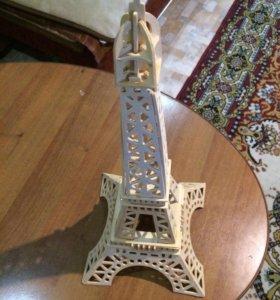 Деревянная Эйфелева Башня
