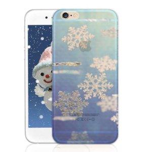 Чехлы в новогодней тематике iPhone 7+