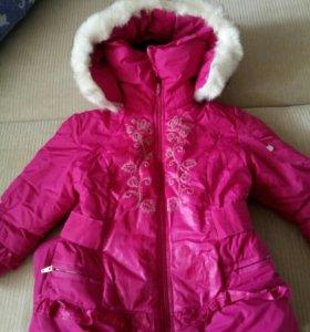 Зимний комбез+куртка