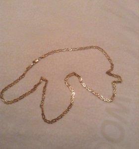 Золотая цепь Cartier