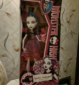 кукла monster high spectra vondergeist