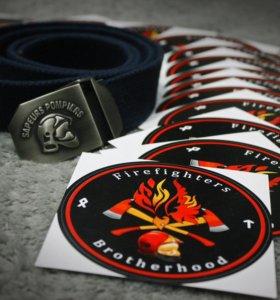 Стикеры для пожарных