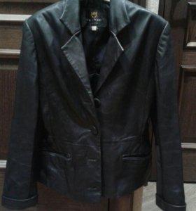 Куртка-пиджак натуральная кожа