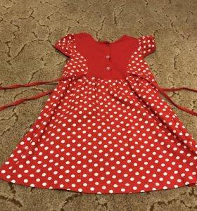 Платье детское новое 116