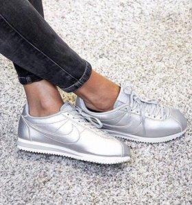 Кроссовки Nike Cortez Silver 36-40