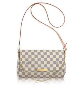 Клатч Favorite Damier Azur MM Louis Vuitton