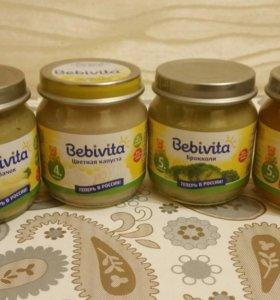 Овощное пюре Бебивита (Bebivita)/детское питание