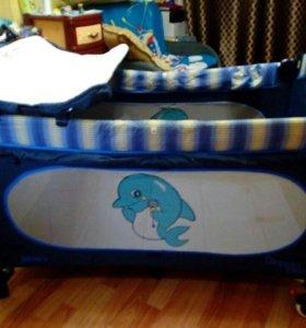 Детский манеж-кровать JETEM С1