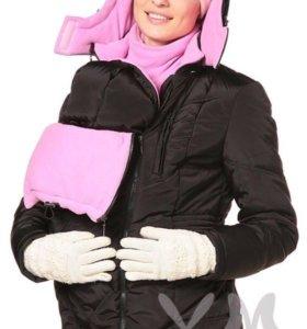 Слингокуртка + куртка для беременных 46-50 размер