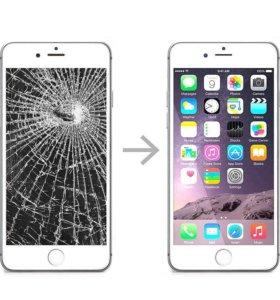 Замена дисплейного модуля на iPhone