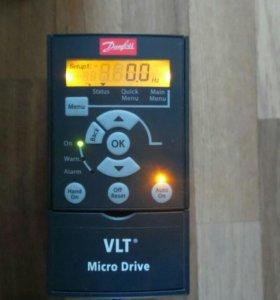 Частотник данфосс 0,75кВт