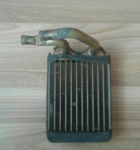 Радиатор задний печки паджеро