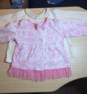 Платья для девочек 74-80