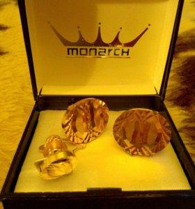 "Запонки""Monarch""."