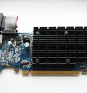 Видеокарта HD 4550 Radeon, бесшумная, HDMI
