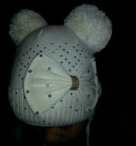 Новая детская шапка