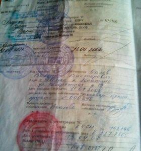 """Продам, документы на """"Tayota Caldina"""""""