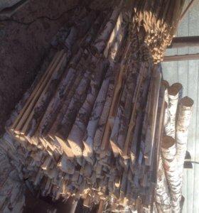 Горбыль берёзовый дрова