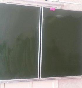 Школьная магнитная доска б/у. Возможен торг