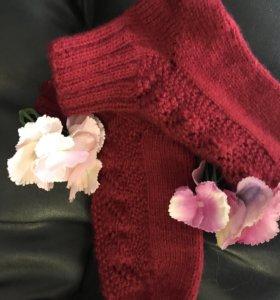 Тёпленькие натуральные носочки