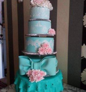 Домашние торты и пирожные на заказ