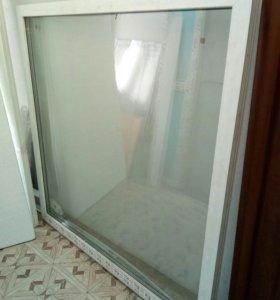 Окно и дверь.