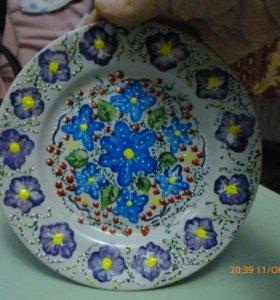 Подарочная тарелка.