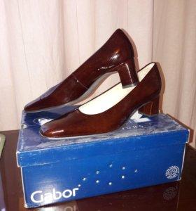 Туфли Gabor 6,5, на наш 39-40, новые