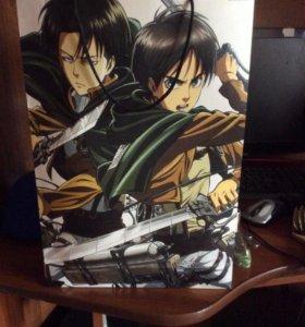 Подарочный пакет,аниме (атака титанов)