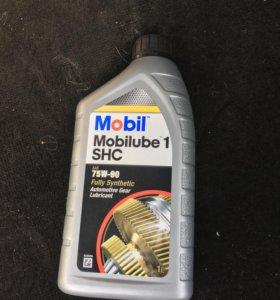 Масло для МКПП Mobilube 1 SHC 75W-90