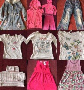 Одежда на девочку от 98 до 116