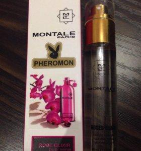 В наличии ферамон Montale - Rose Elixir стойкий