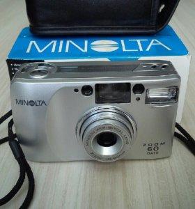 Фотоаппарат автомат Minolta ZOOM 60 date