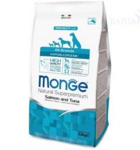 Гипоаллергенный корм для собак Monge Dog