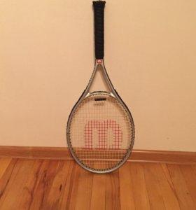 Ракетка теннисная с чехлом