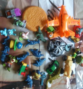 Киндеры и игрушки