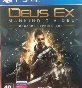 Deus Ex для PS 4