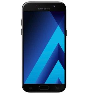 Новый Samsung a5 2017 black 32 gb