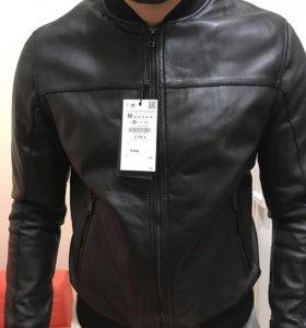 Новая кожаная куртка Zara